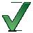 Wäschespinne Check Symbol