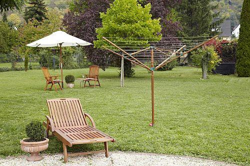 Bambuswäschespinne Eco - Linowood Wäscheschirm 500