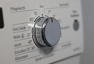 Grafik: Programmwahl beim Wäschewaschen